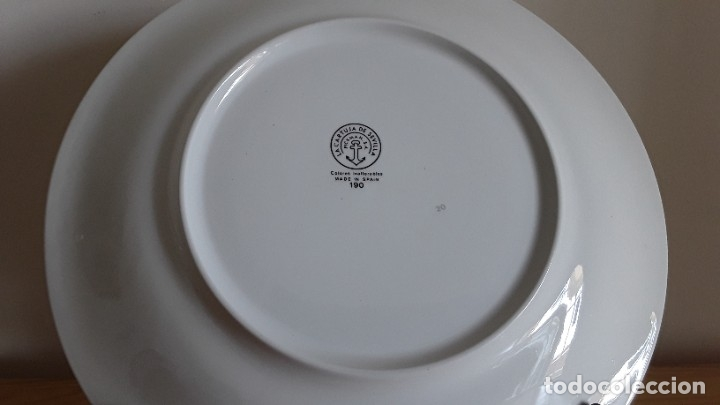 Antigüedades: Plato cerámica Cartuja Pickman, Expo92 - Foto 4 - 182232335
