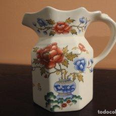 Antigüedades: JARRA DE PORCELANA ANTIGUA MASON'S - CHINESE PEONY. Lote 182233281