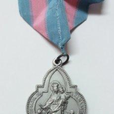 Antigüedades: MEDALLA ARCHICOFRADIA MARIA AUXILIADORA Y SAGRADO CORAZON DE JESUS. Lote 182253656