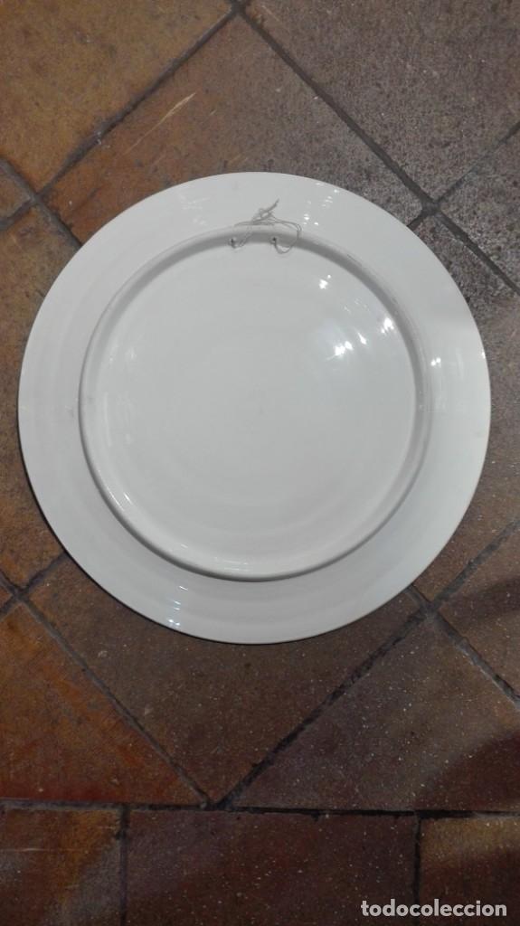Antigüedades: Plato de cerámica de Talavera - Foto 2 - 182262620