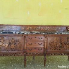 Antigüedades: APARADOR CLASICO TALLADO. Lote 182265712