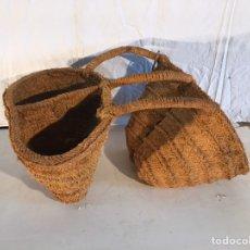 Antigüedades: AGUADERAS DE ESPARTO. Lote 182272686