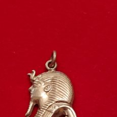 Antigüedades: PRECIOSO COLGANTE EGIPCIO EN PLATA DE LEY 925 MACIZO. Lote 182276428