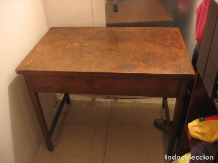 MESA DE ROBLE (Antigüedades - Muebles Antiguos - Mesas de Despacho Antiguos)
