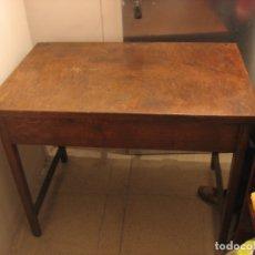 Antigüedades: MESA DE ROBLE. Lote 182279182