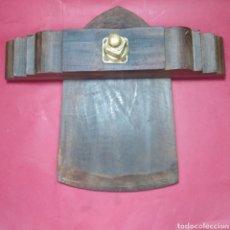 Antigüedades: PUERTA DE BOCOY ( BARRIL GIGANTESCO DE MADERA) SIN ESPITA. Lote 182281538