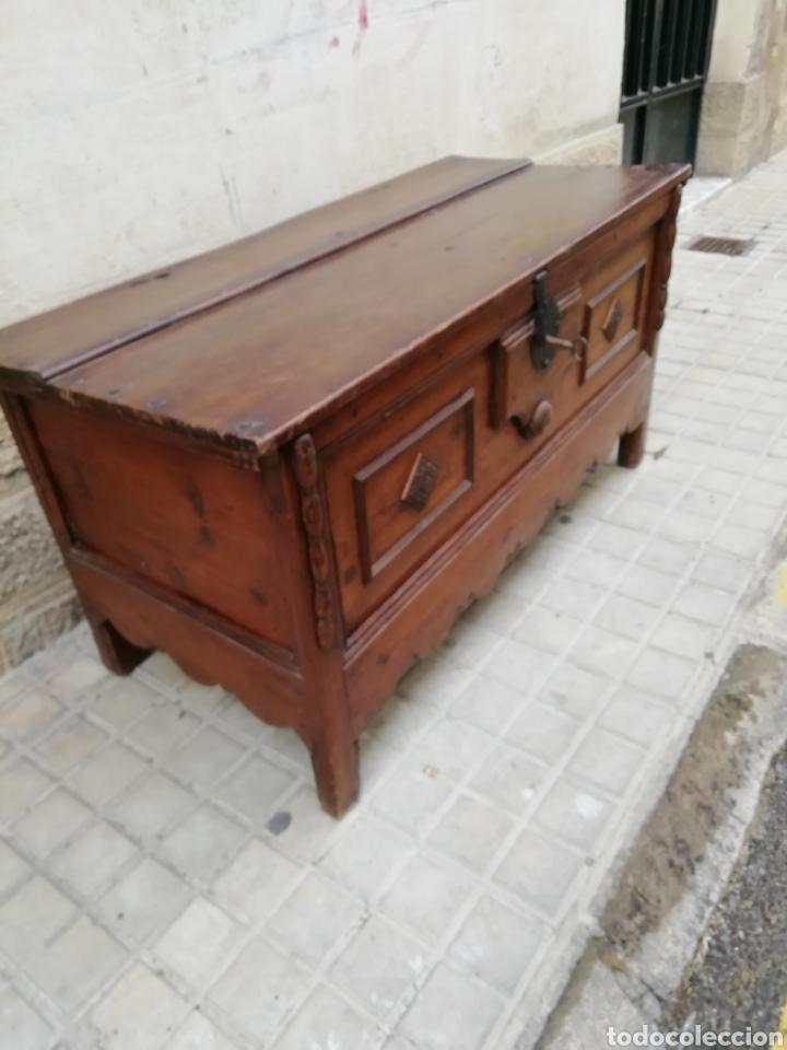 ANTIGUA ARCA (Antigüedades - Muebles Antiguos - Baúles Antiguos)