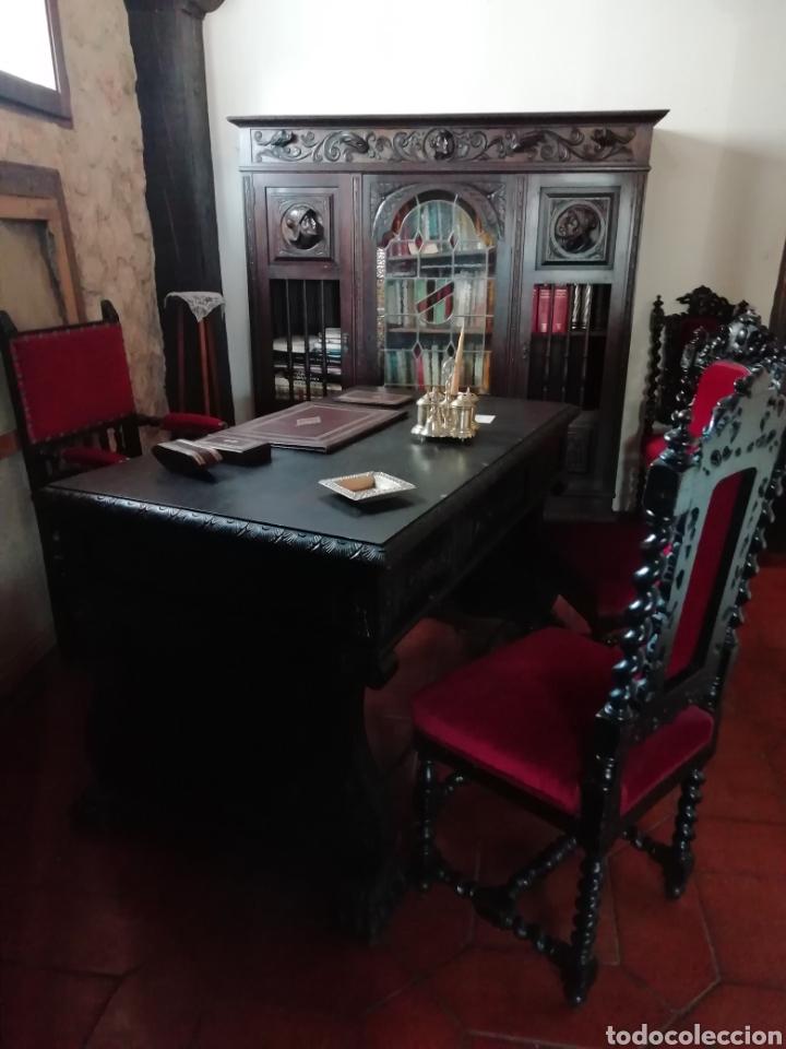 DESPACHO RENACIMIENTO (Antigüedades - Muebles Antiguos - Mesas de Despacho Antiguos)