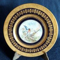 Antigüedades: PLATO PORCELANA SEVRES. Lote 182317168