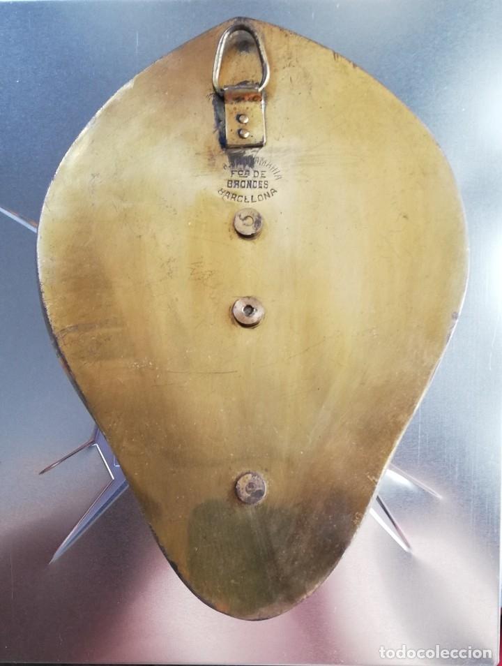 Antigüedades: Benditera modernista de bronce y Onice - Foto 2 - 182318577
