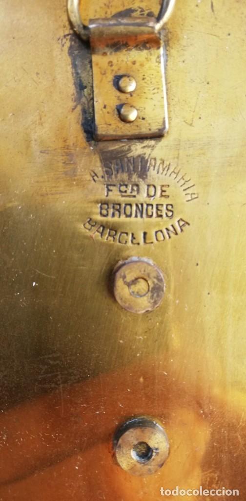 Antigüedades: Benditera modernista de bronce y Onice - Foto 3 - 182318577