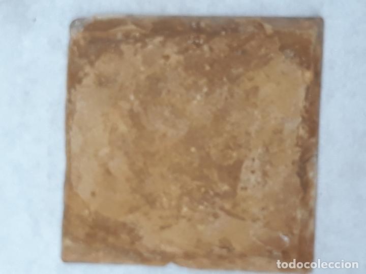 Antigüedades: AZULEJO ANTIGUO DE TALAVERA DE LA REINA (TOLEDO ) RENACIMIENTO - SIGLO XVI - TECNICA PINTADA - - Foto 4 - 182014446