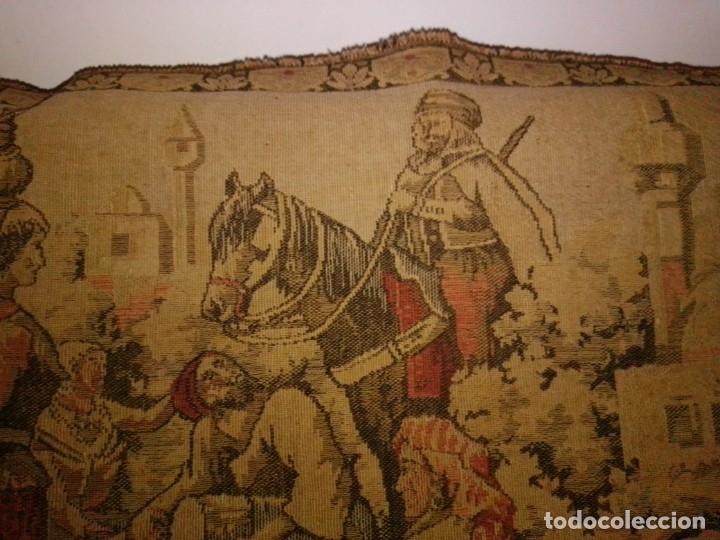 Antigüedades: Antiguo y grande tapiz árabe - Foto 4 - 182351948