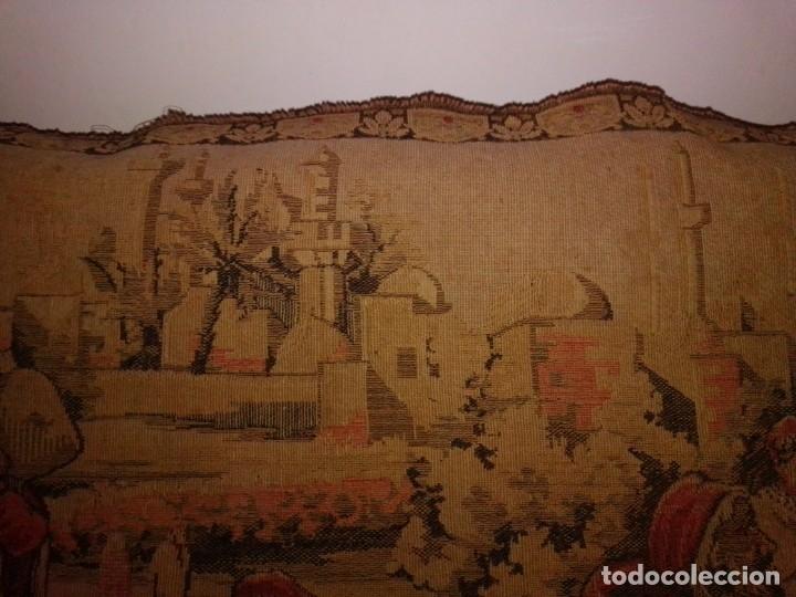 Antigüedades: Antiguo y grande tapiz árabe - Foto 5 - 182351948