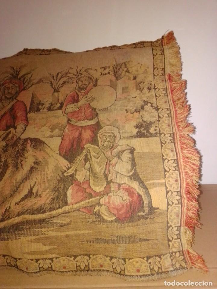 Antigüedades: Antiguo y grande tapiz árabe - Foto 8 - 182351948