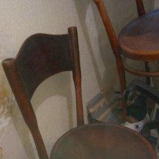 Antigüedades: SILLAS ESPAÑOLAS ESTILO THONET. Lote 182354223