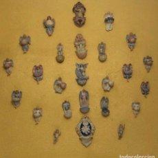 Antigüedades: BENDITERAS BISCUIT ANTIGÜEDADES. Lote 182354813