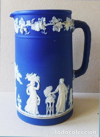 WEDGWOOD JARRA AZUL COBALTO AÑOS 20 (Antigüedades - Porcelanas y Cerámicas - Otras)