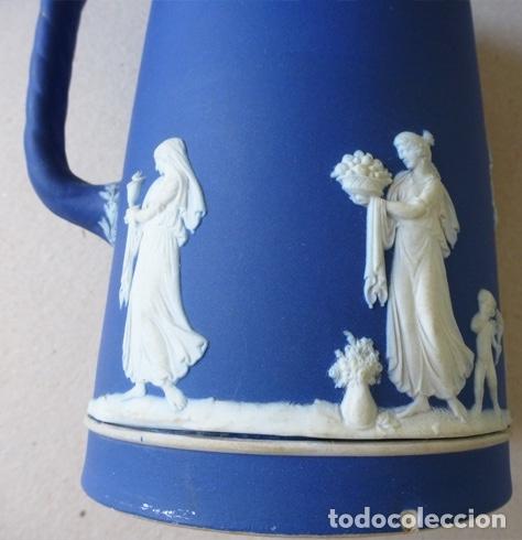 Antigüedades: WEDGWOOD JARRA AZUL COBALTO AÑOS 20 - Foto 3 - 182357793