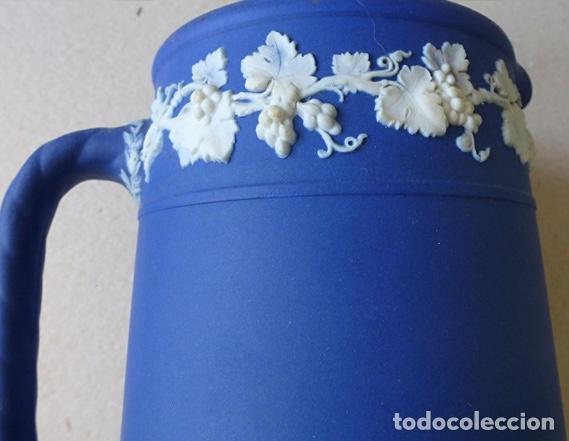 Antigüedades: WEDGWOOD JARRA AZUL COBALTO AÑOS 20 - Foto 4 - 182357793