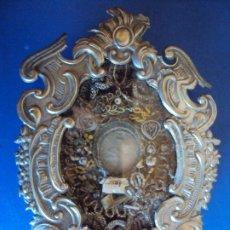 Antigüedades: (ANT-191106)ANTIGUO RELICARIO - REVERSO CON LACRE. Lote 182370436