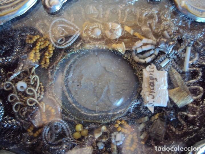 Antigüedades: (ANT-191106)ANTIGUO RELICARIO - REVERSO CON LACRE - Foto 2 - 182370436