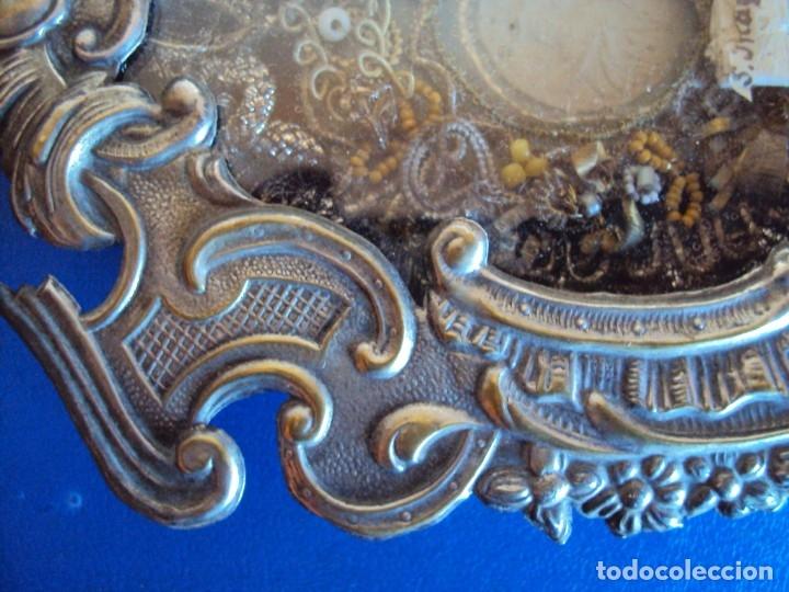 Antigüedades: (ANT-191106)ANTIGUO RELICARIO - REVERSO CON LACRE - Foto 3 - 182370436