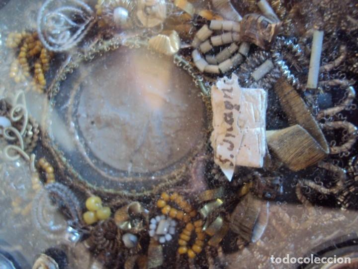 Antigüedades: (ANT-191106)ANTIGUO RELICARIO - REVERSO CON LACRE - Foto 5 - 182370436