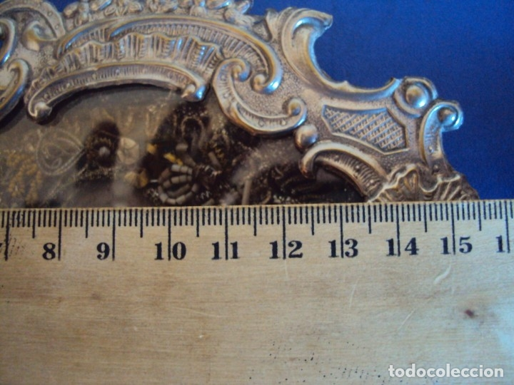 Antigüedades: (ANT-191106)ANTIGUO RELICARIO - REVERSO CON LACRE - Foto 6 - 182370436