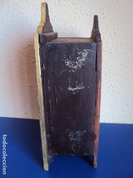 Antigüedades: (ANT-191108)ANTIGUA CAPILLA RELICARIO - CRISTO DE CERA Y RELIQUIAS - Foto 8 - 182371408
