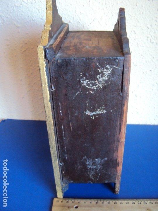 Antigüedades: (ANT-191108)ANTIGUA CAPILLA RELICARIO - CRISTO DE CERA Y RELIQUIAS - Foto 21 - 182371408