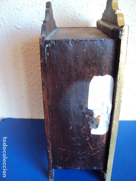 Antigüedades: (ANT-191108)ANTIGUA CAPILLA RELICARIO - CRISTO DE CERA Y RELIQUIAS - Foto 25 - 182371408