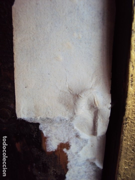Antigüedades: (ANT-191108)ANTIGUA CAPILLA RELICARIO - CRISTO DE CERA Y RELIQUIAS - Foto 26 - 182371408