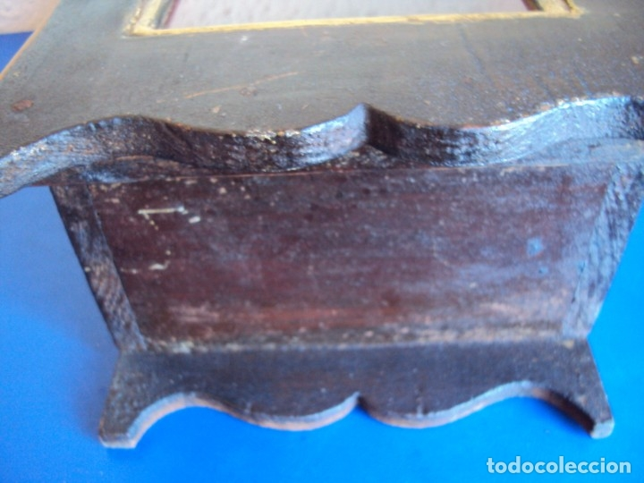 Antigüedades: (ANT-191108)ANTIGUA CAPILLA RELICARIO - CRISTO DE CERA Y RELIQUIAS - Foto 27 - 182371408