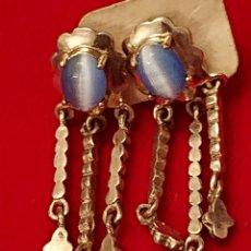 Antigüedades: PRECIOSOS PENDIENTES EN PLATA DE LEY 925. Lote 182376182