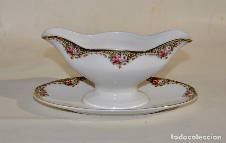 Antigüedades: Salsera Société Ceramique Holland - Foto 4 - 182392892