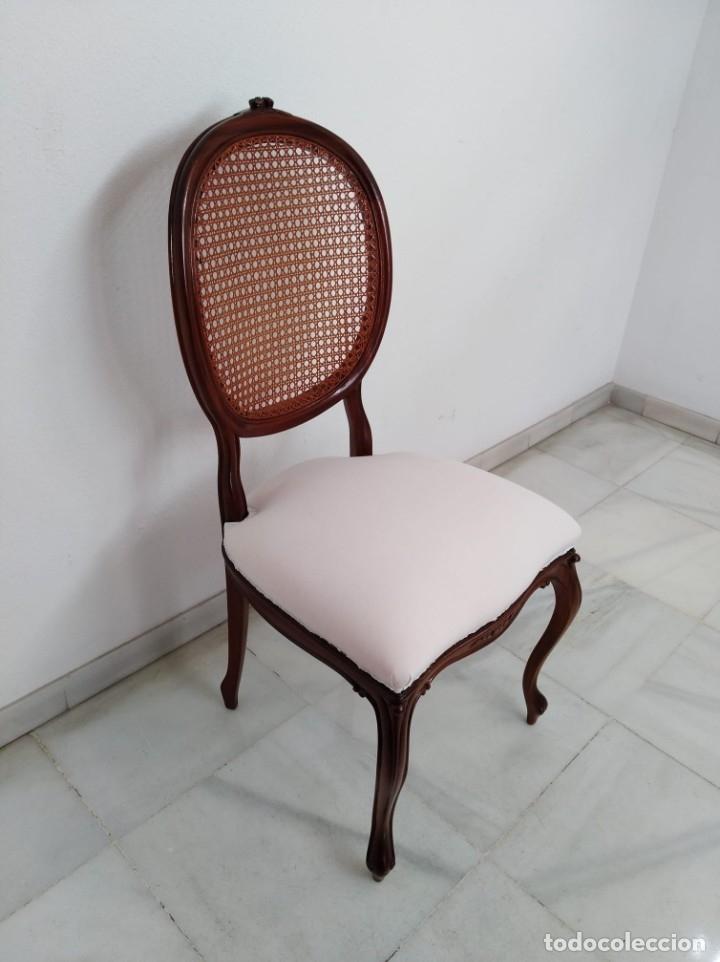 Antigüedades: Antiguas sillas de comedor (4 piezas) - Foto 2 - 182402587
