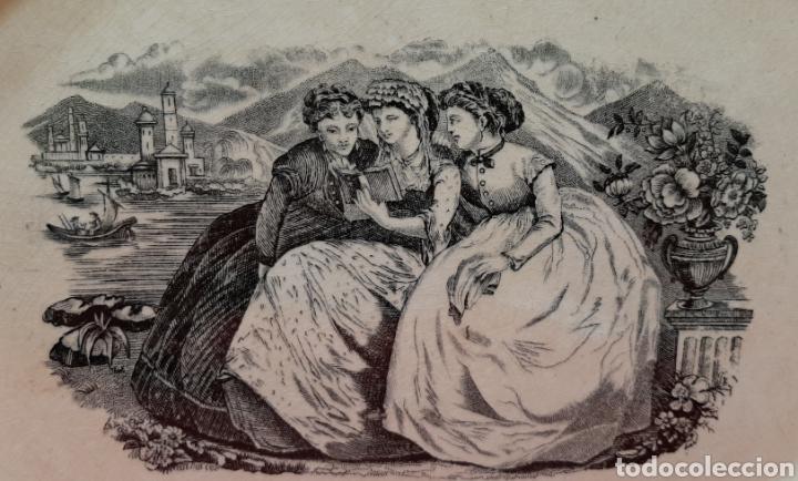 Antigüedades: ANTIGUA Y RARA FUENTE OCHAVADA, LA AMISTAD, CARTAGENA, SELLO INCISO VALARINO Y SELLO TINTA. S. XIX. - Foto 2 - 182404401