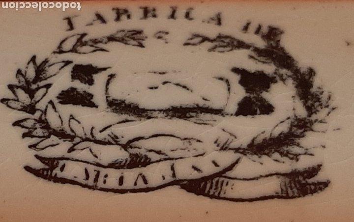 Antigüedades: ANTIGUA Y RARA FUENTE OCHAVADA, LA AMISTAD, CARTAGENA, SELLO INCISO VALARINO Y SELLO TINTA. S. XIX. - Foto 4 - 182404401
