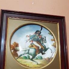 Antigüedades: PLATO DE PORCELANA ROYAL RICK BONE CHINA GERMAY PINTADO A MANO.. Lote 182422200