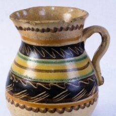 Antigüedades: JARRA EN CERÁMICA PUENTE ARZOBISPO SIGLO XIX. Lote 182423123