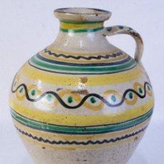 Antigüedades: CÁNTARO EN CERÁMICA PUENTE DE ARZOBISPO SIGLO XIX. Lote 182423536