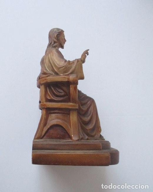 Antigüedades: SAGRADO CORAZON DE JESUS ENTRONIZADO - Foto 2 - 182451907
