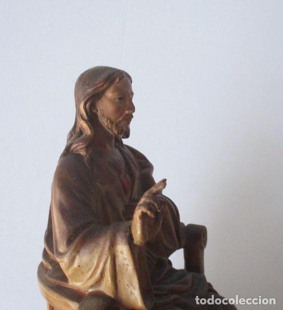Antigüedades: SAGRADO CORAZON DE JESUS ENTRONIZADO - Foto 4 - 182451907