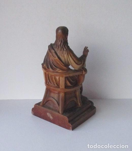 Antigüedades: SAGRADO CORAZON DE JESUS ENTRONIZADO - Foto 6 - 182451907
