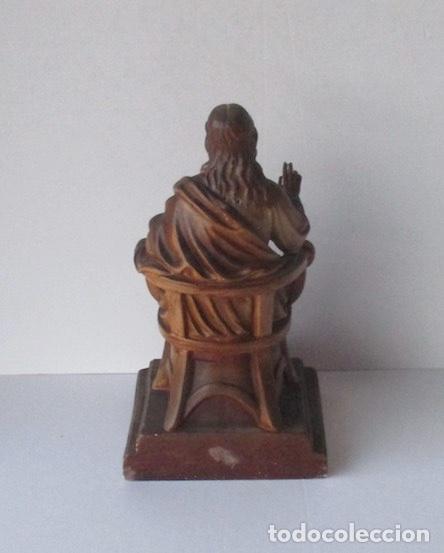 Antigüedades: SAGRADO CORAZON DE JESUS ENTRONIZADO - Foto 8 - 182451907