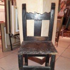 Antigüedades: SILLA ARAGONESA MUY ANTIGUA. Lote 182472478