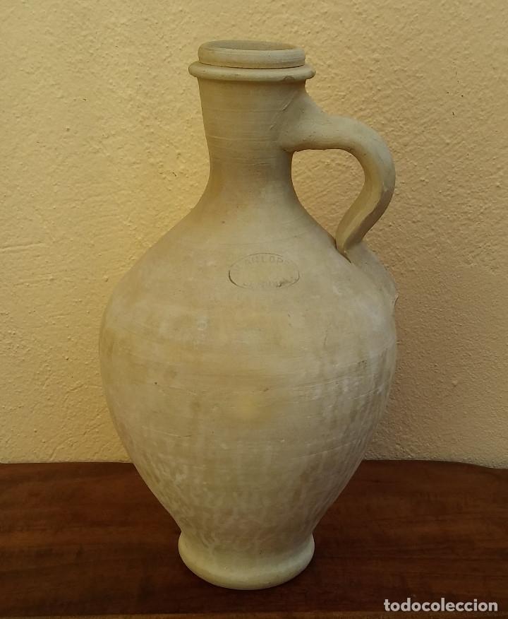 PRECIOSO CÁNTARO DEL ALFAR JUAN LÓPEZ DE LEBRIJA, SEVILLA, PERFECTO ESTADO. (Antigüedades - Porcelanas y Cerámicas - Otras)