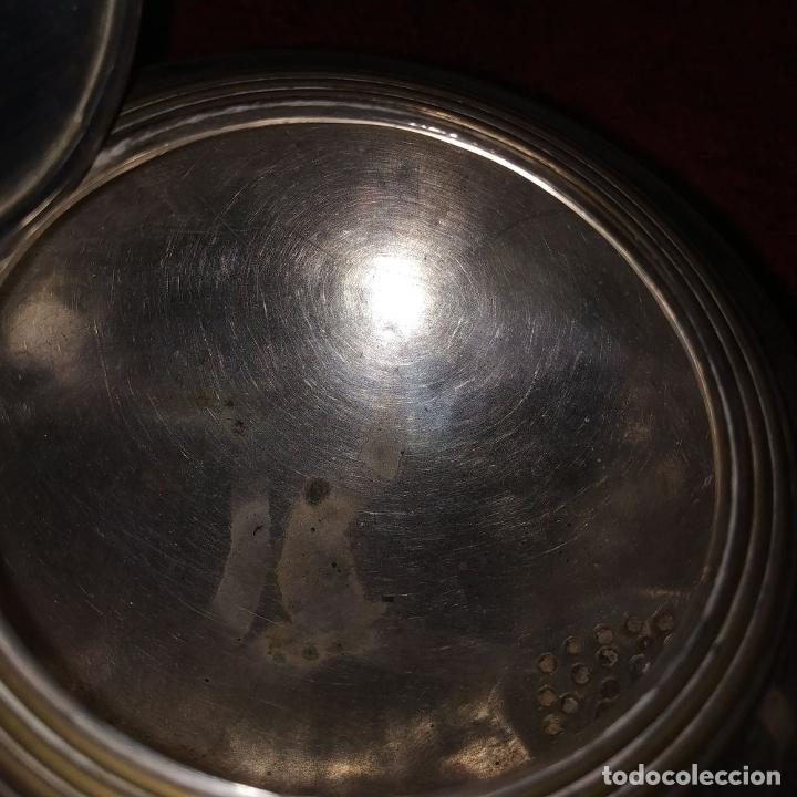 Antigüedades: TETERA ESTILO LOUIS XV.. METAL CHAPADO EN PLATA. MARCAS DE CHARPENTIER. FRANCIA. SIGLO XIX - Foto 16 - 182489540