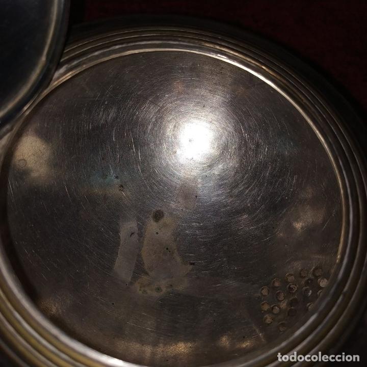 Antigüedades: TETERA ESTILO LOUIS XV.. METAL CHAPADO EN PLATA. MARCAS DE CHARPENTIER. FRANCIA. SIGLO XIX - Foto 18 - 182489540